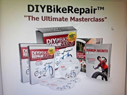 plus de 200 vidéos! The Ultimate Video Guide to Bicycle maintenance et les réparations..