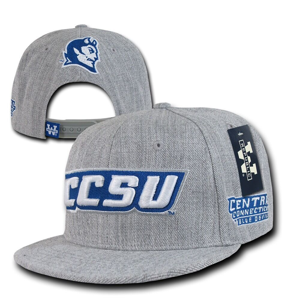 NCAA CCSU Central Day Connecticut State University Blue Devils Game Day Central Snapback Cap 8c9494