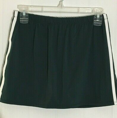 Wilson Women's Athletic Golf Skirt w/Shorts, Size Small, Dark Green & White  Trim   eBay