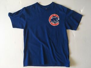 detailed look 63d96 a9a00 Details about Authentic Majestic Chicago Cubs Anthony Rizzo 44 Jersey Style  Shirt