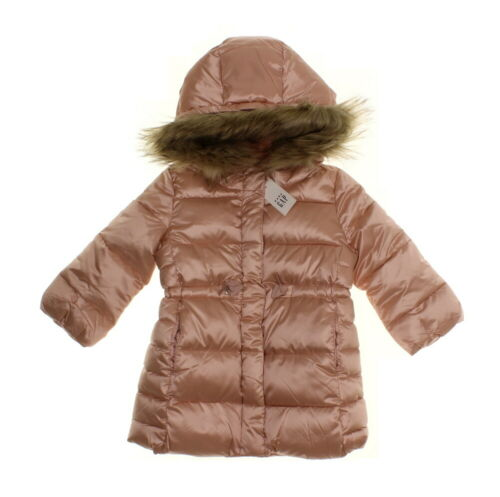 Gap Toddler Girls/' ColdControl Max Long Puffer Jacket Pink Champagne