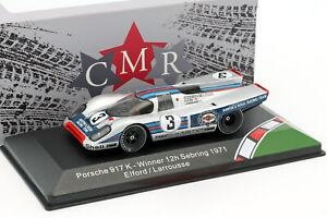 PORSCHE-917k-3-WINNER-12h-Sebring-1971-Elford-Larrousse-1-43-CMR