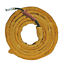AP-9006 Golden Leather Welding Cable Cover w// Hook /& Loop Closure 11.5/' Long