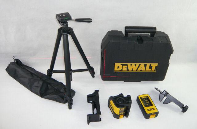 Laser Entfernungsmesser Mit Stativ : Dewalt kreuzlinienlaser mit detektor dw088kd ebay