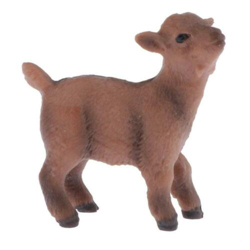 Miniature Simulation Animals Figurine Model Toys Kids Early Education Toys