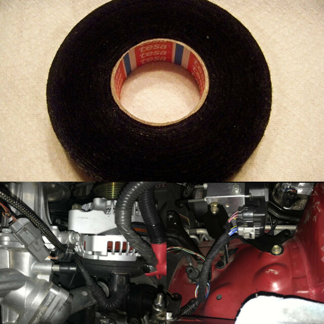 Brilliant Tesa Black Fuzzy Fleece Interior Wire Loom Harness Tape For Vw Audi Wiring 101 Ferenstreekradiomeanderfmnl