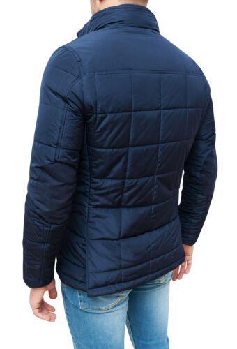 Giubbotto piumino uomo sartoriale blu formale elegante giaccone soprabito gilet