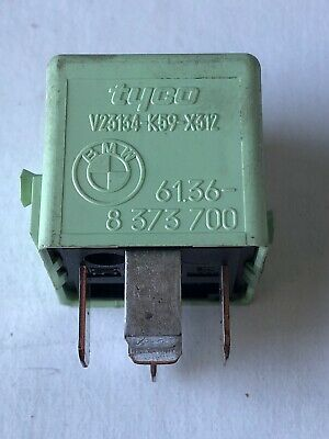 BMW GENUINE MULTI PURPOSE GREEN RELAY 5 PIN 61.36-8 373 700