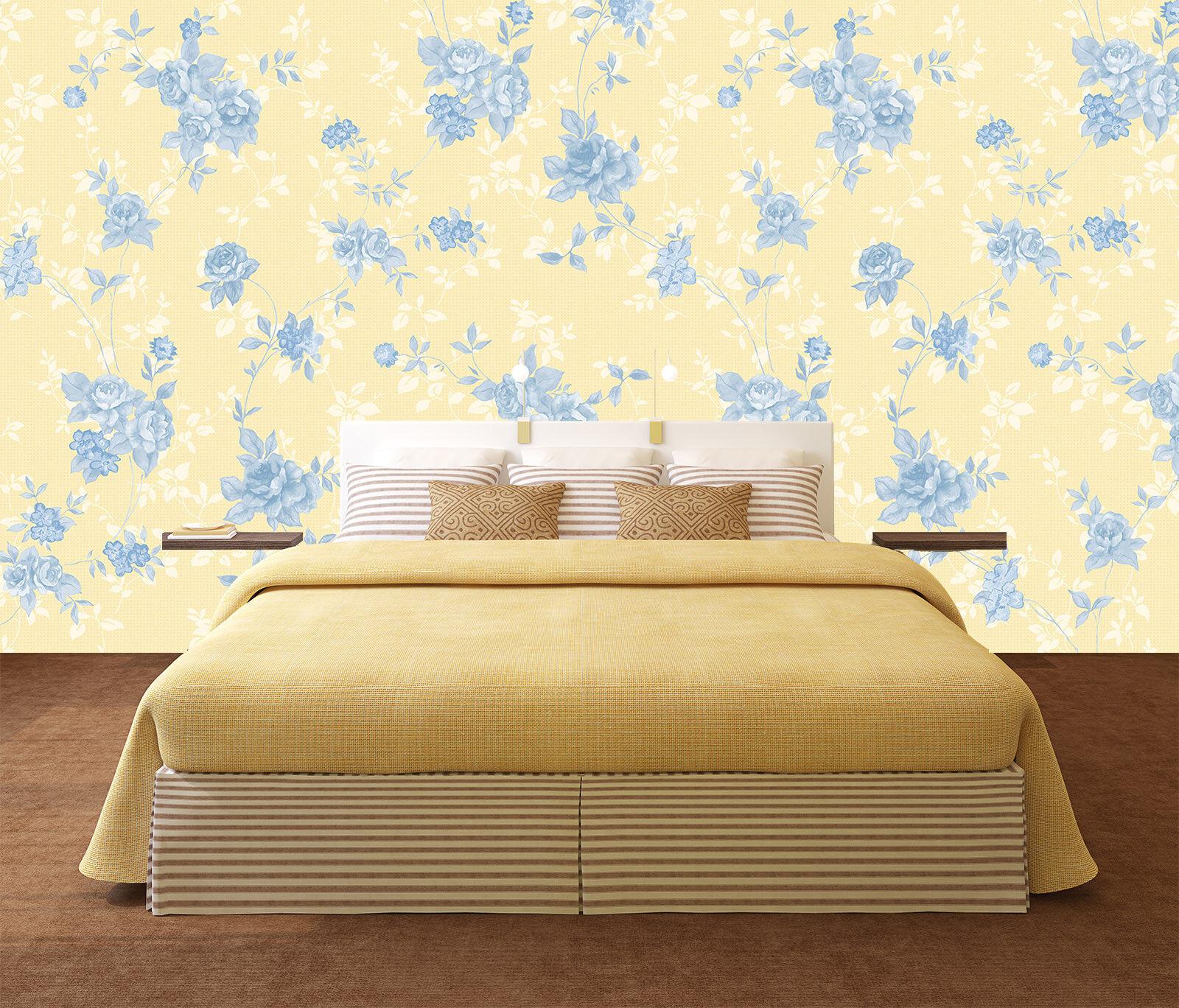 3D bluee pink Pattern 7 Wall Paper Murals Wall Print Wall Wallpaper Mural AU Kyra