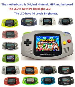 Game-Boy-Advance-GBA-Game-Console-with-iPS-Backlight-Backlit-LCD-MOD-Console