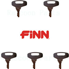 5 Finn Straw Blower Ignition Keys Amp Also For Kubota And Gehl Equipments