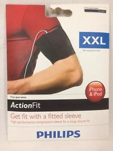 Philips-Action-Fit-High-Performance-Sport-Sleeve-Armband-Size-XXL