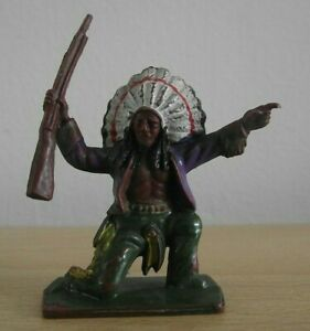 Lone Star Figure - Harvey Series - Plastic Indian Figure - Original (ODD123)