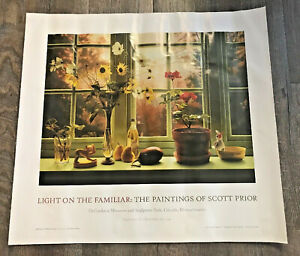 Details about Vintage The Painting Of Scott Pryor Print Poster Lincoln  Massachusetts 1997