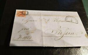 Bayern-Kreuzer-Brief-3-Kr-rot-9-gMR-491-Sonthofen-Wirtschaftsdokument-1863