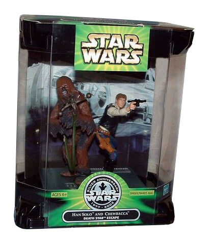 HAN SOLO Flight to a Alderaan 2003 STAR WARS THE SAGA COLLECTION Comme neuf on Card #25