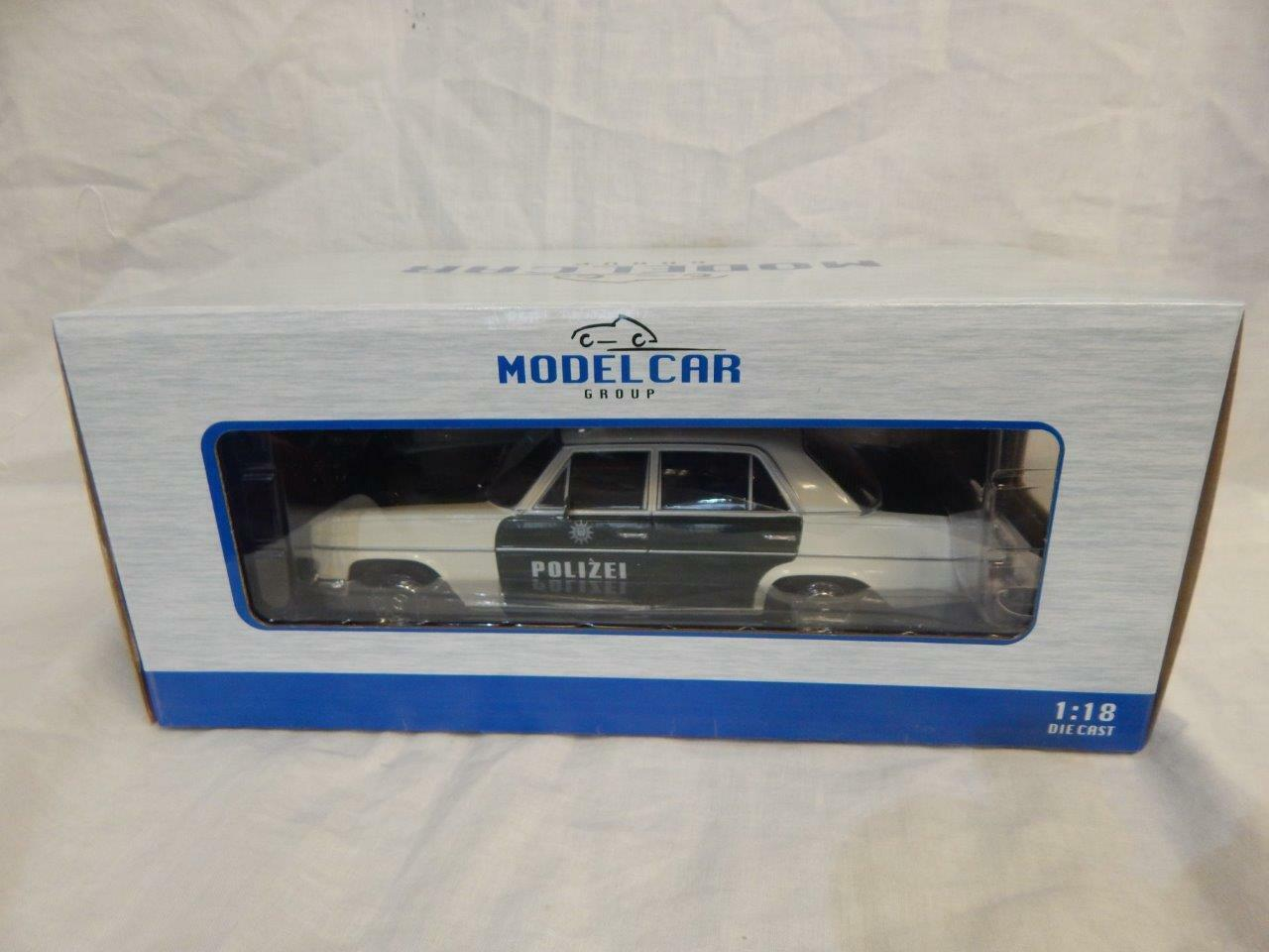 MCG MODEL voiture  GROUP MERCEDES BENZ 230 POLIZEI POLICE BNIB 1 18  mode