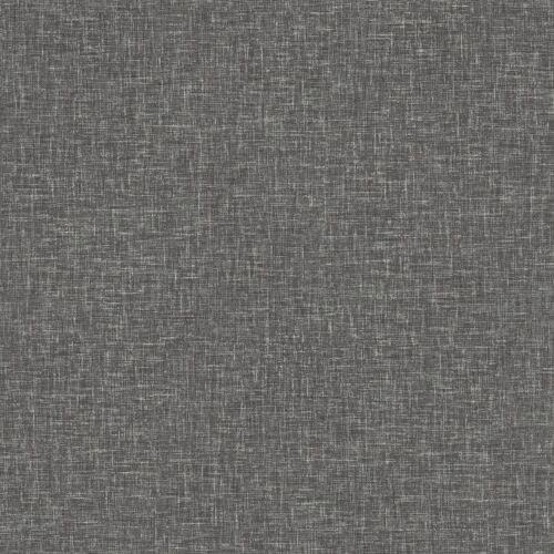 Arthouse Lin texture Charbon Papier Peint Tissé Effet Moderne Feature LUXE