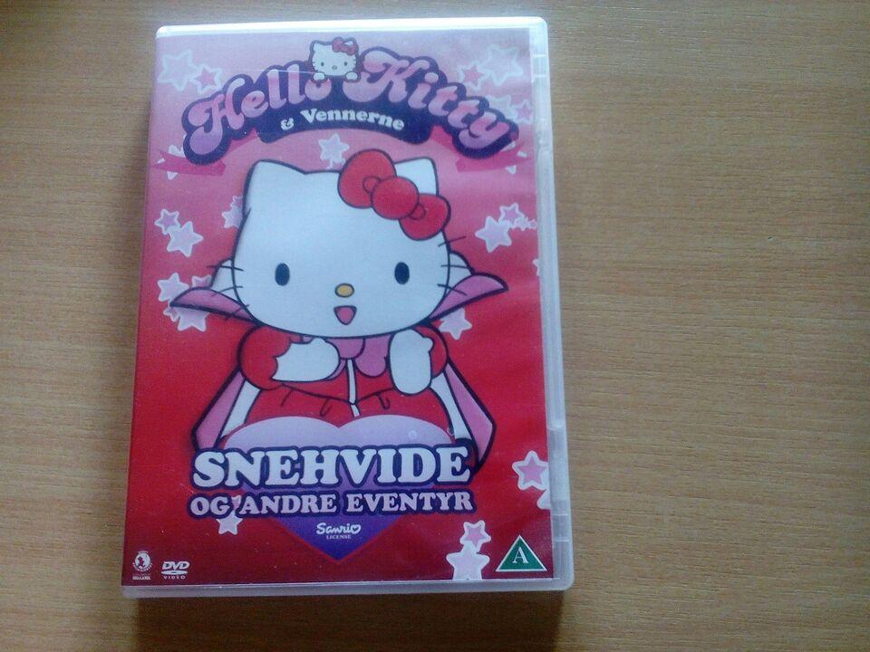 Hello kitty snehvide og andre eventyr, DVD, andet