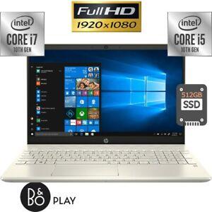 Hp Pavilion 15 6 Full Hd 10th Gen Intel I7 Or I5 40gb Memory 512gb Ssd Laptop Ebay