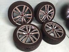 2013 2012 2011 Subaru Wrx Sti Complete Wheel Wheels Tires ENKEI Front Rear Oem