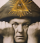 "Aleister Crowley 24/"" x 28/"" Poster Print Art Black Magic Evil Satanic Atheist NEW"