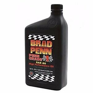 Brad Penn SAE 60W High Performance PennGrade 1 Diesel Racing Engine Oil (12cs)