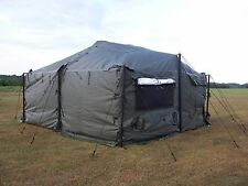 MILITARY M.G.P.T.S. 18' X 18' Small Modular General Purpose Tent System  MGPTS