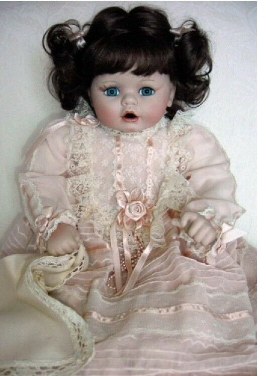 MARIE OSMOND  Baby Renee  22  Porcelain Doll  NEW IN BOX