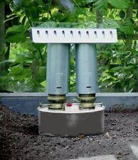 Apollo Doble Quemador Chimenea TWIN Calentador de Parafina Grande Invernadero Anti Escarcha