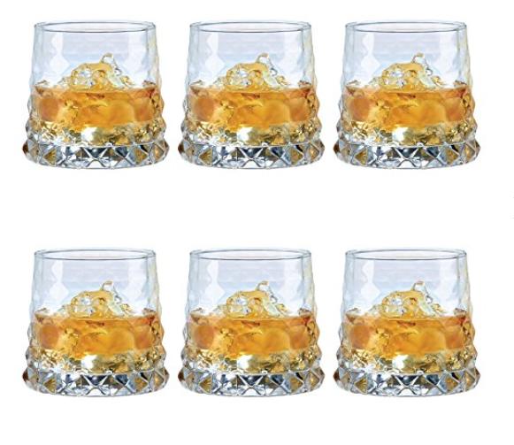 Sold by 6 Durobor Glassware 342//38 Quartz Whisky Glass Transparent 33cl