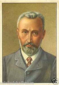 PIERRE-CURIE-1859-1906-PHYSICIEN-PHYSICIAN-FRANCE-IMAGE-CHROMO-20s
