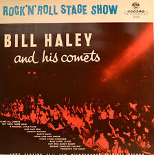 """ROCK`N`ROLL STAGE SHOW - BILL HALEY AND HIS CORNETS 12"""" LP (W33)"""