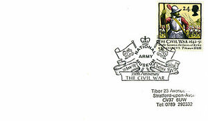 16-JUNE-1992-CIVIL-WAR-COVER-NATIONAL-ARMY-MUSEUM-CHELSEA-LONDON-SHS-a