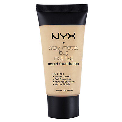 NYX Stay Matte But Not Flat Liquid Foundation 1.18 oz color SMF06 Medium Beige