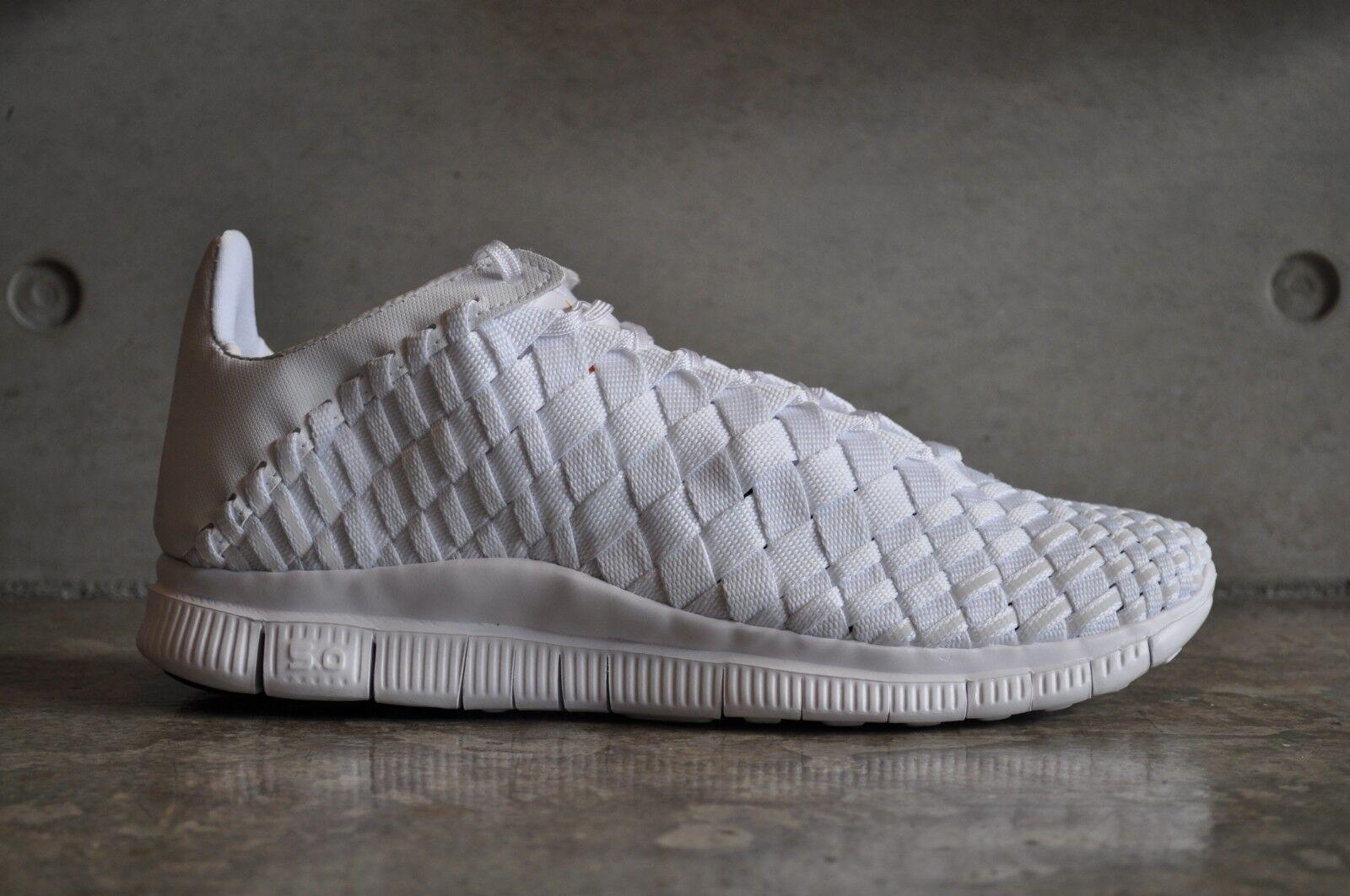 Nike Free Inneva Woven Tech SP Triple blanc - blanc/blanc 741 EUR 8 US