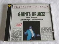 CD GIANTS OF JAZZ - LIONEL HAMPTON / CHARLES MINGUS / EARL FATHA HINES