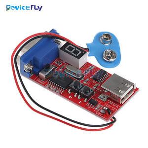 VGA Signal Generator LCD Tester 15 Signal Output USB Battery Power Supply