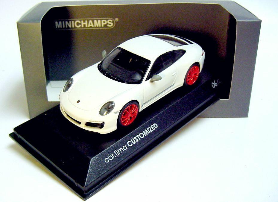 1 43 Minichamps 2019 Porsche 911 991 II Carrera T voiture. Tima personnalisé Limited Edition 33 pcs.