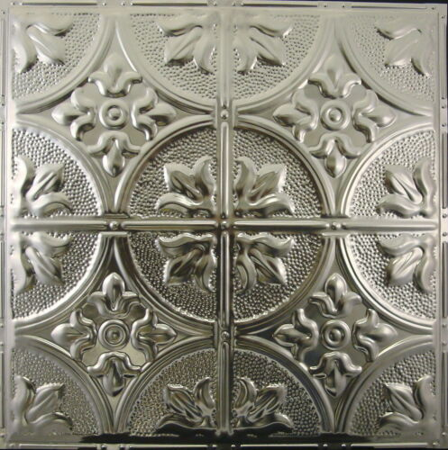 #102-Tin Ceiling Tiles 10 pcs per box Unfinished Drop-In