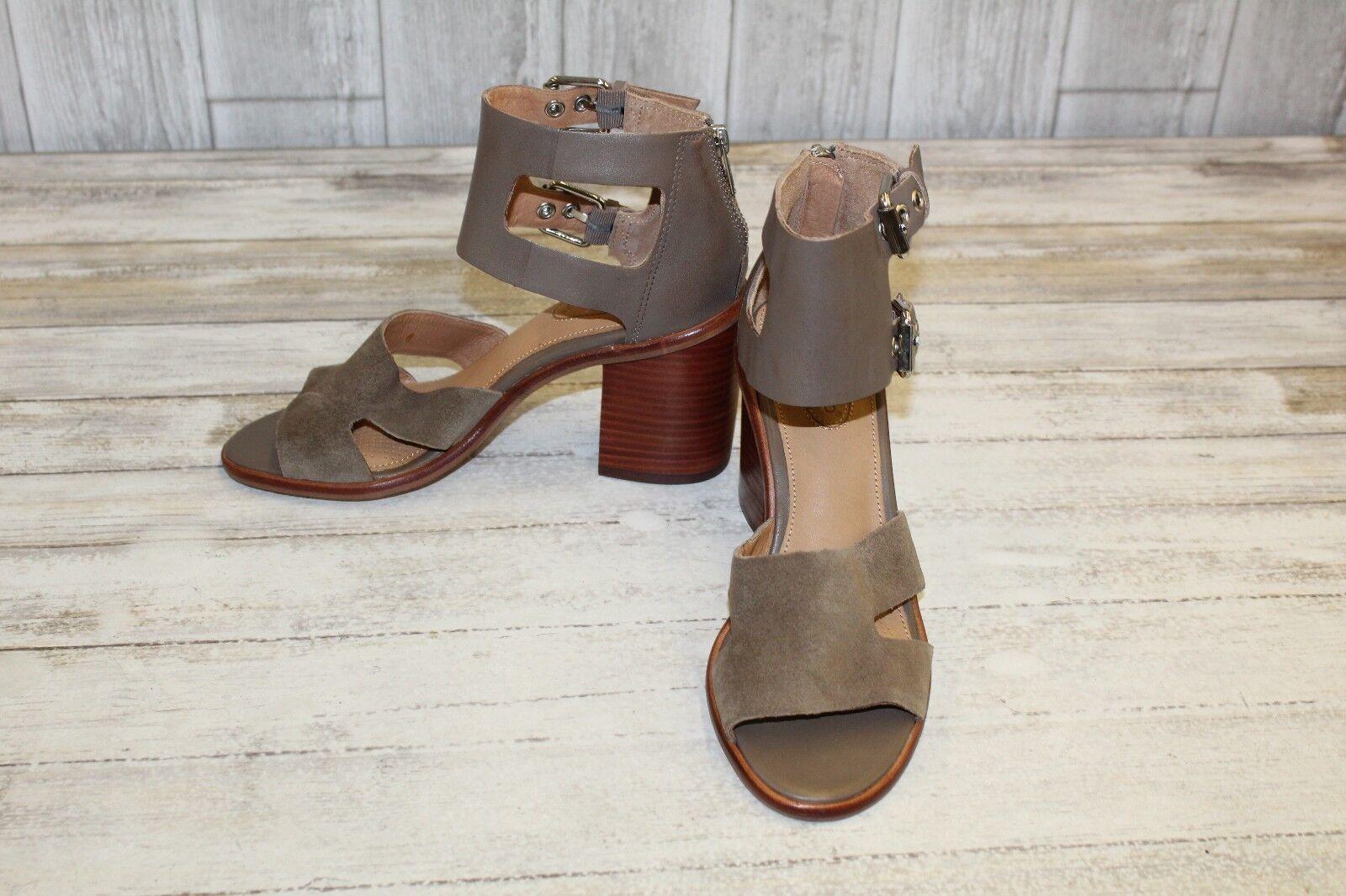 è scontato Corso Como September Leather & Suede Sandals, Donna Donna Donna  Dimensione 8 M, Taupe NEW  acquista online oggi