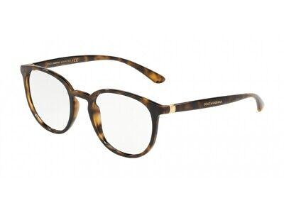 Di Larghe Vedute Montatura Occhiali Da Vista Dolce & Gabbana Autentici Dg5033 Havana 502 Lustro Incantevole