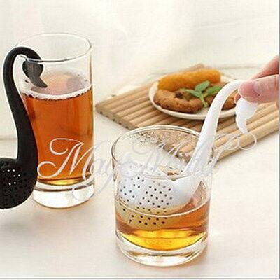 Tea Leaf Strainer Herbal Spice Tea Maker Music Infuser Filter Kitchen Tool W