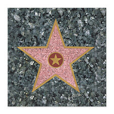16 HOLLYWOOD Awards Movie Night Party STAR WALK OF FAME Paper BEVERAGE NAPKINS