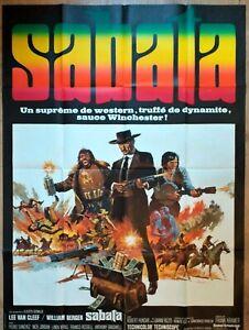 Plakat-Kino-Original-Western-Sabata-Lee-Van-Cleef-120-X-160-CM