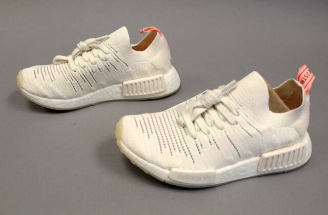 825aa5021eb3 Adidas Women s NMD R1 Knit Lace Up Sneakers HD3 Cloud White B37655 Size  US 5.5
