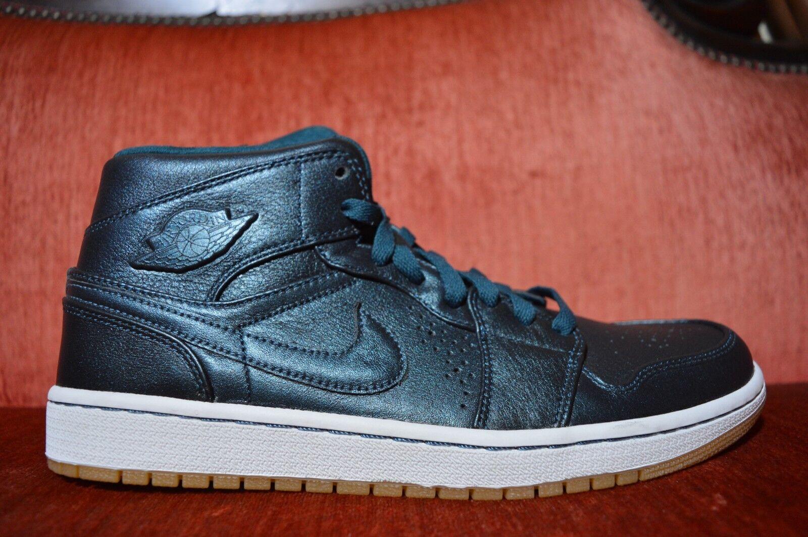 New Men's Air Jordan 1 Mid Nouveau Anti Gravity Machines 629151-404 Men US 10 Cheap women's shoes women's shoes