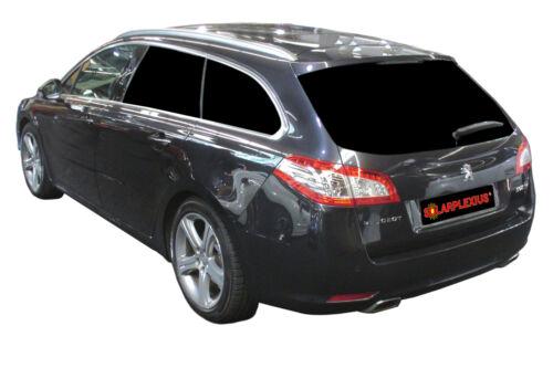 Voiture Protection Soleil Solaire Panneaux Disques-Teinte Peugeot 508 Sw Combi I Bj 10-18