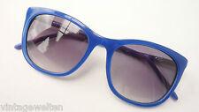 Rodenstock Damen Sonnenbrille blau Kunststoff hochwertig NEU Verlaufgläser GR. M