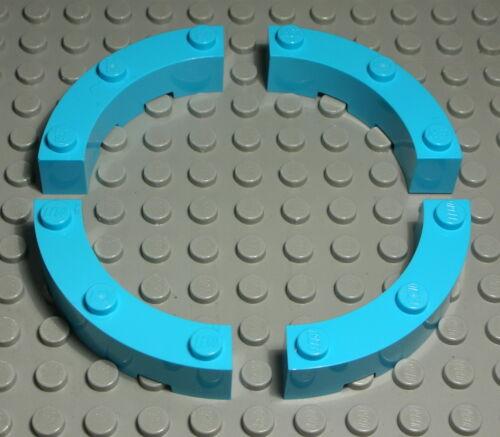 LEGO Pietra 1x5 TONDO TURCHESE 4 pezzi 434